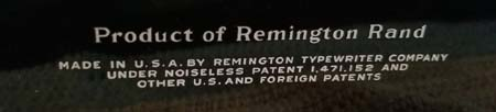 Remington No 8 Back Logo