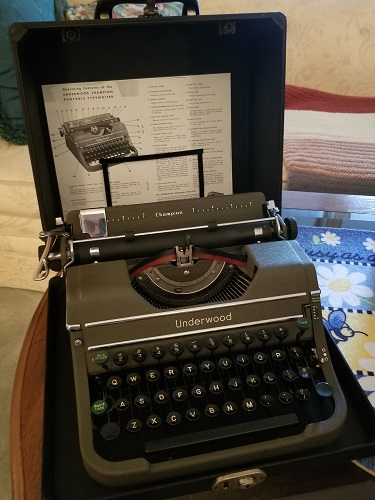 For Sale Underwood Champion Typewriter